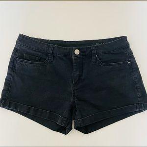 Black blanc nyc cuffed shorts | size 26